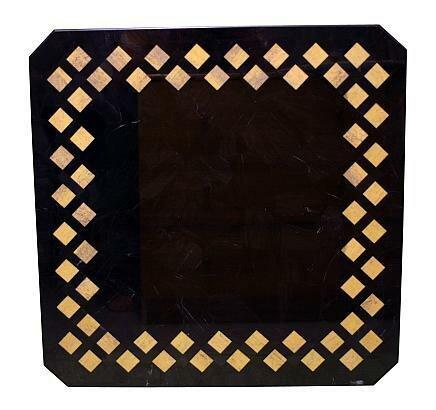 Tischplatte aus diversen Edelsteinen