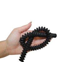 Strang Onyx Button matt 15 mm / 40 cm