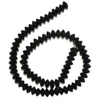 Strang Onyx Button matt 9 mm / 40 cm