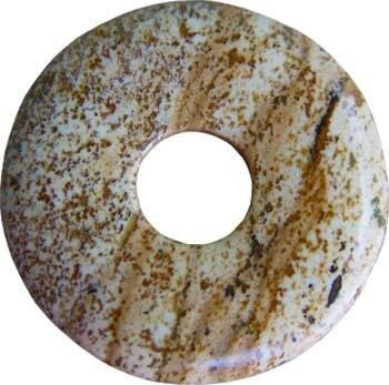 Donut Landschaftsjaspis, 30 mm