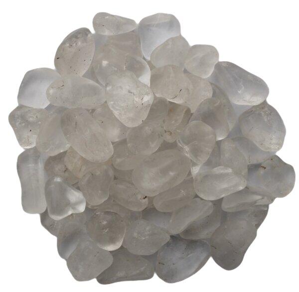 Trommelsteine Bergkristall, 1 KG