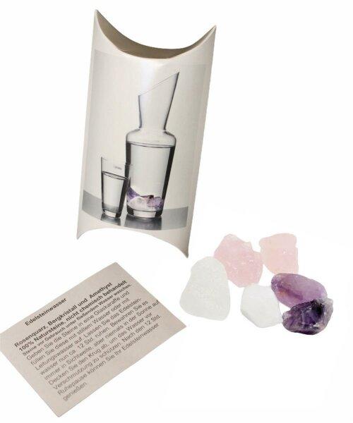 Wassersteine Set in einer Kissenverpackung, 132 Stück
