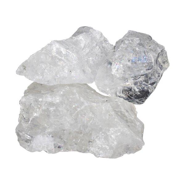 Bergkristall Rohstein, Größe von ca. 50-160 Gramm / Stück