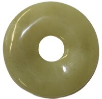 Donut gelbe Jade, 30 mm