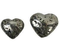 Herzen aus Pyrit
