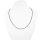 Kette Spinell mit Silberstaub,ca. 2 mm, facettiert, 45 cm