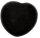 Herz schwarzer Turmalin, ca. 45 mm x 40 mm