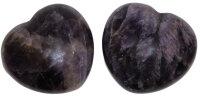 Herz Amethyst, ca. 45 x 40 mm