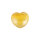 Herz Fluorit gelb - lila, ca. 45 x 40 mm