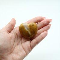 Herz Mookait, ca. 45 x 40 mm