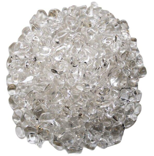 Trommelsteine Bergkristall mini, Qu. extra, 0,5 KG