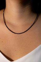 Kette Spinell ca. 2 mm, facettiert, 45 cm