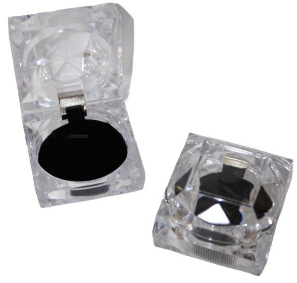 Schmuck- Ringdose transparent