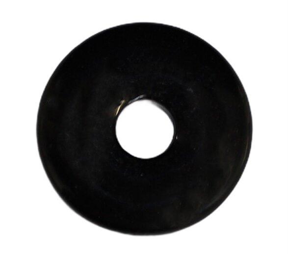 Donut schwarzer Turmalin 30 mm