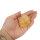 Deko Chips Citrin gebrannt, 1 KG