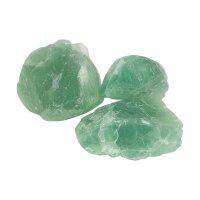 Grüner Fluorit Rohsteine
