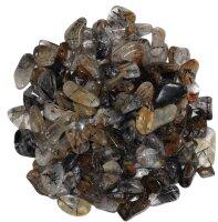 Trommelsteine Turmalinquarz, 250 Gramm