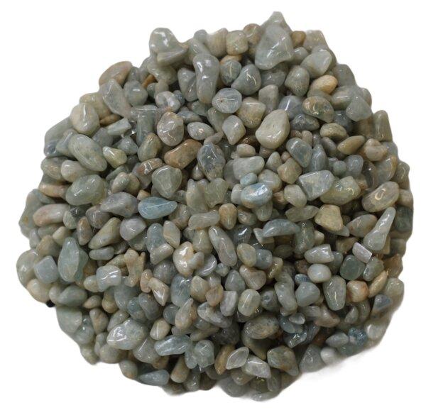 Trommelsteine Aquamarin mini, 0,5 KG