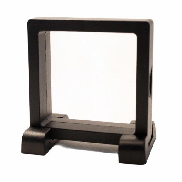 Schweberahmen schwarz, 90 mm x 90 mm