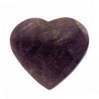 Herz Amethyst Größe ca. 55 x 50 mm