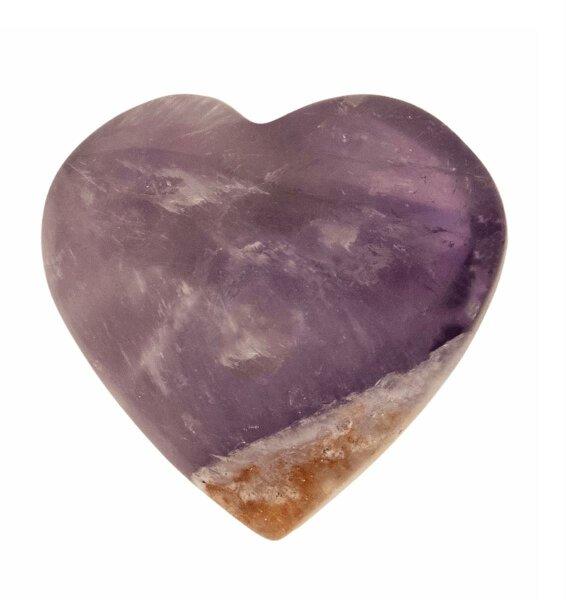 Herz Amethyst, Größe ca. 43 x 39 mm