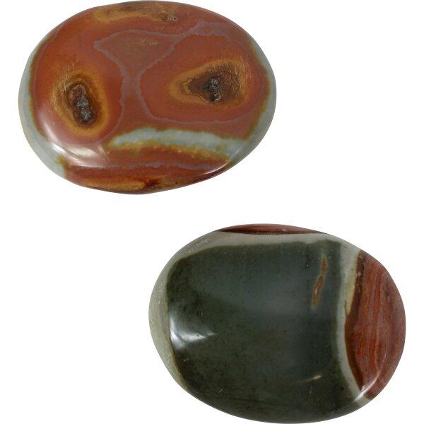 Seifensteine Polychrome Jaspis, verschiedene Größen