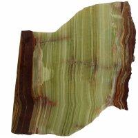 Onyx Platten grün / gelb, Mosaikform
