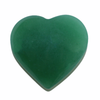 Herz Aventurin grün, Größe M