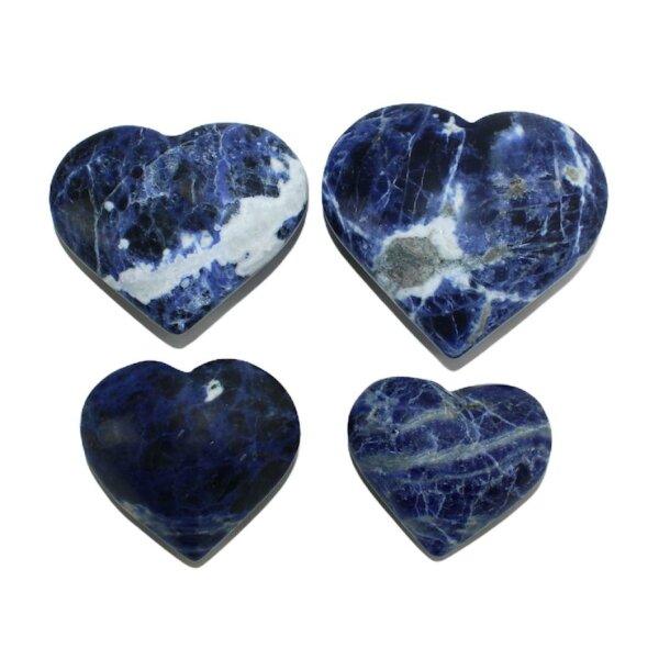 Herzen Sodalith, Größe S bis XL