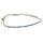 Pullstring Armband Chrysocoll 2 mm, facettiert