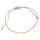 Pullstring Armband Hematin goldfarben, 2 mm, facettiert