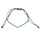 Pullstring Armband Apatit blau 2 mm, facettiert