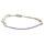 Pullstring Armband Amethyst 2 mm, facettiert