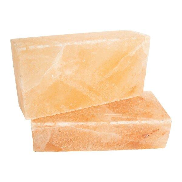 Natur Kristallsalz Ziegel, alle Seiten gesägt