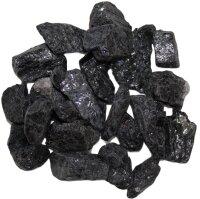 Deko Chips schwarzer Turmalin roh, 1 KG