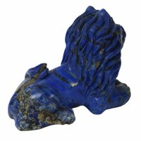 Löwe aus Lapis Lazuli, 508 Gramm