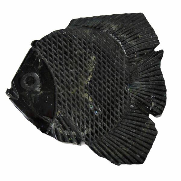 Fisch aus grünem Turmalin, 22 Gramm, 110 Karat