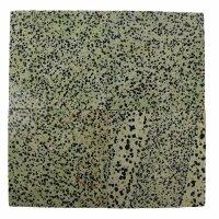 Untersetzer aus Dalmatiner Jaspis, 10 cm x 10 cm x 5 mm