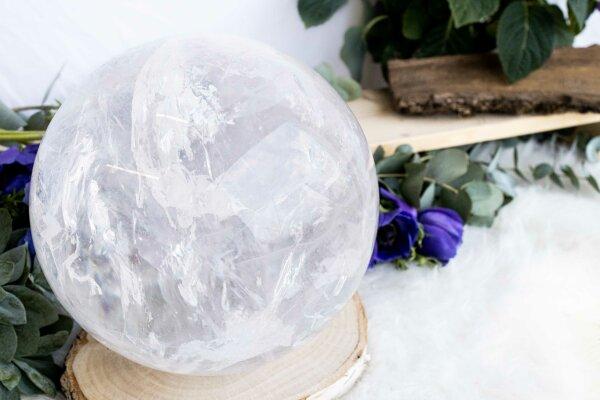 Kugel Bergkristall, Qu. extra, 17,5 KG