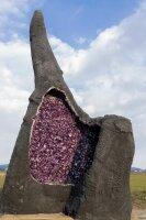 Amethyst Geode, 680 KG, Einzelstück