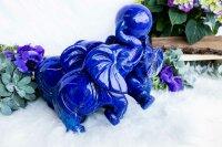 Elefantengruppe aus Laspis Lazuli, Qu. Extra, 11,52 KG