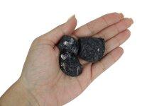 Schwarzer Turmalin roh, 150 Gramm Packung