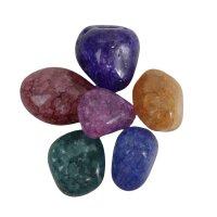 Trommelsteine Magic Stones, 6er Set, 2 - 3 cm