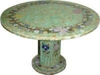 Tisch Amazonit, Durchm. 1,20 M, 240 kg