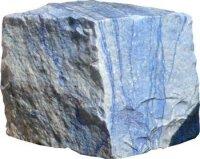 Blauquarz roh 168 kg